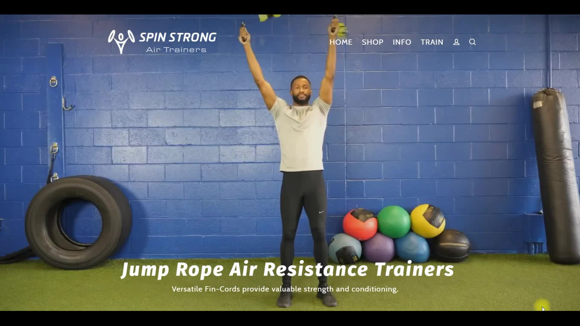 Spin Strong Promo
