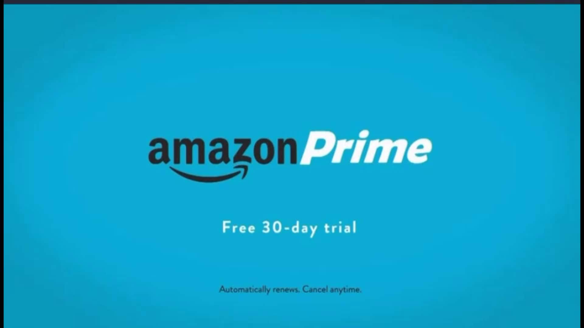 Amazon 30 Day Free Trial