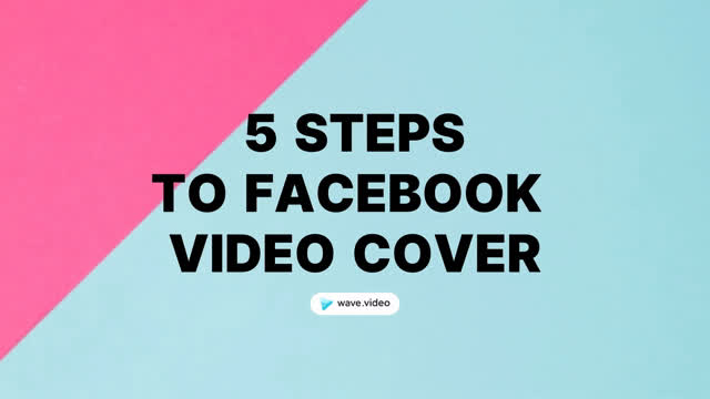 5 steps to facebook cover