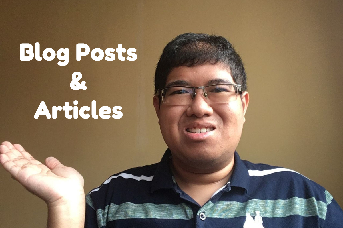 Fiverr Gig - Blog Posts & Articles
