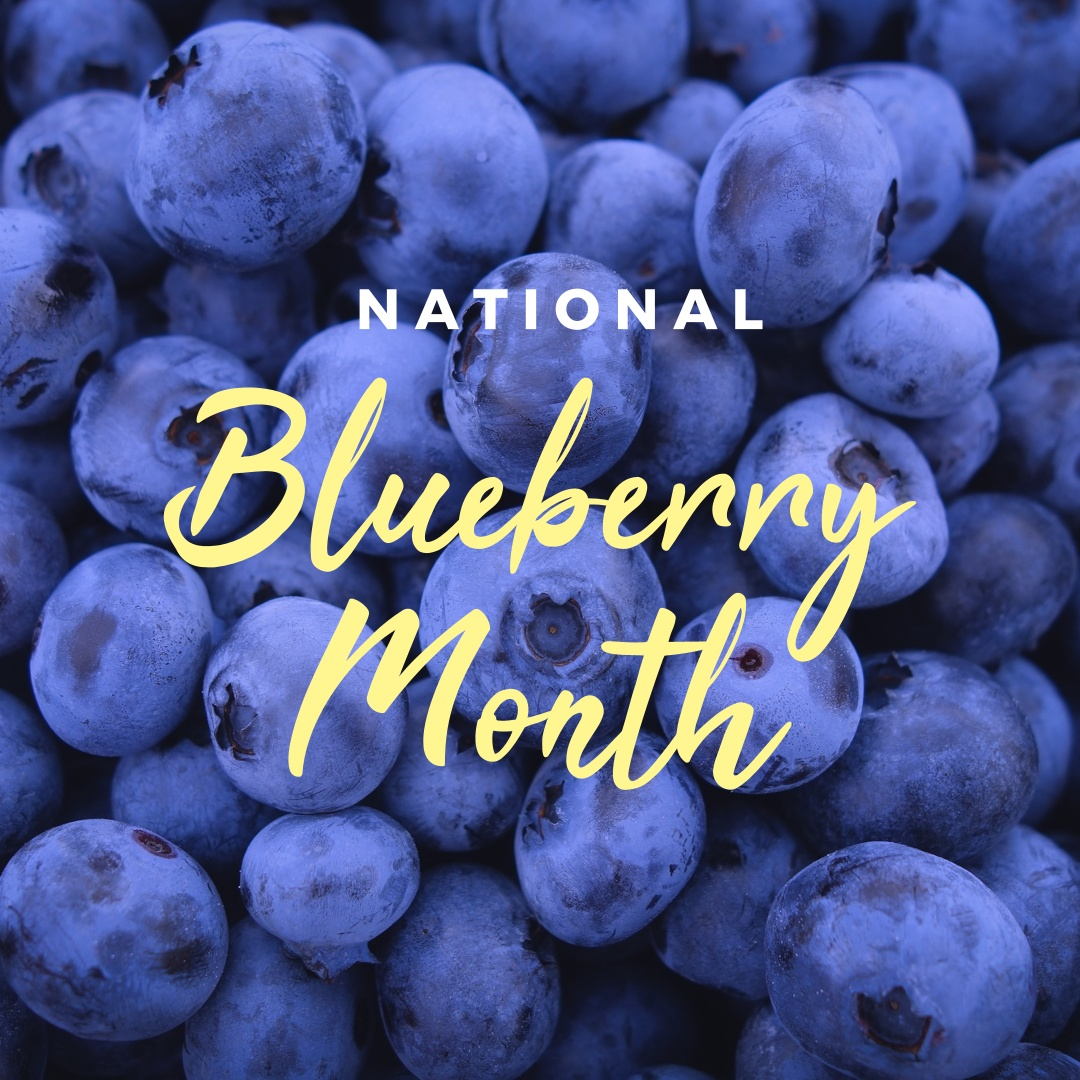 Fade to black: National Blueberry Month
