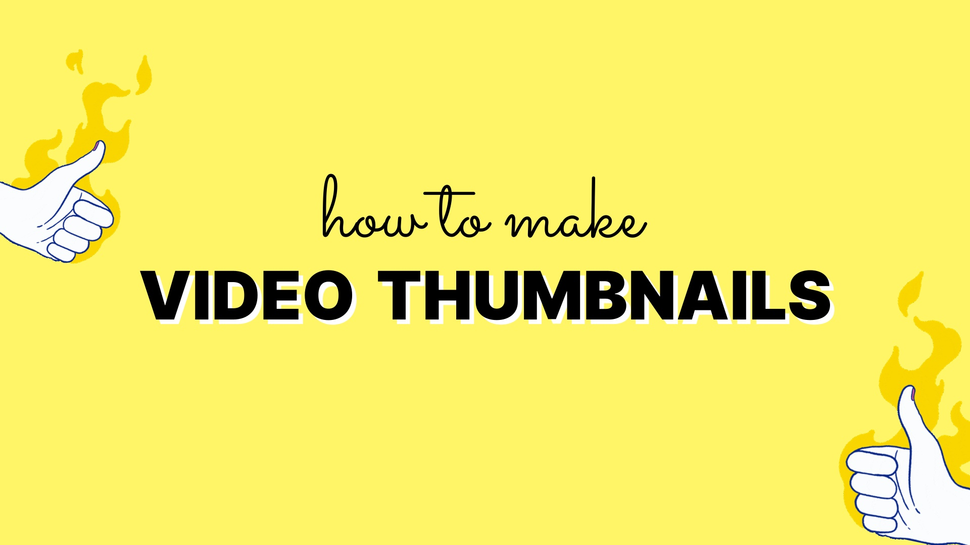 How to make thumbnails