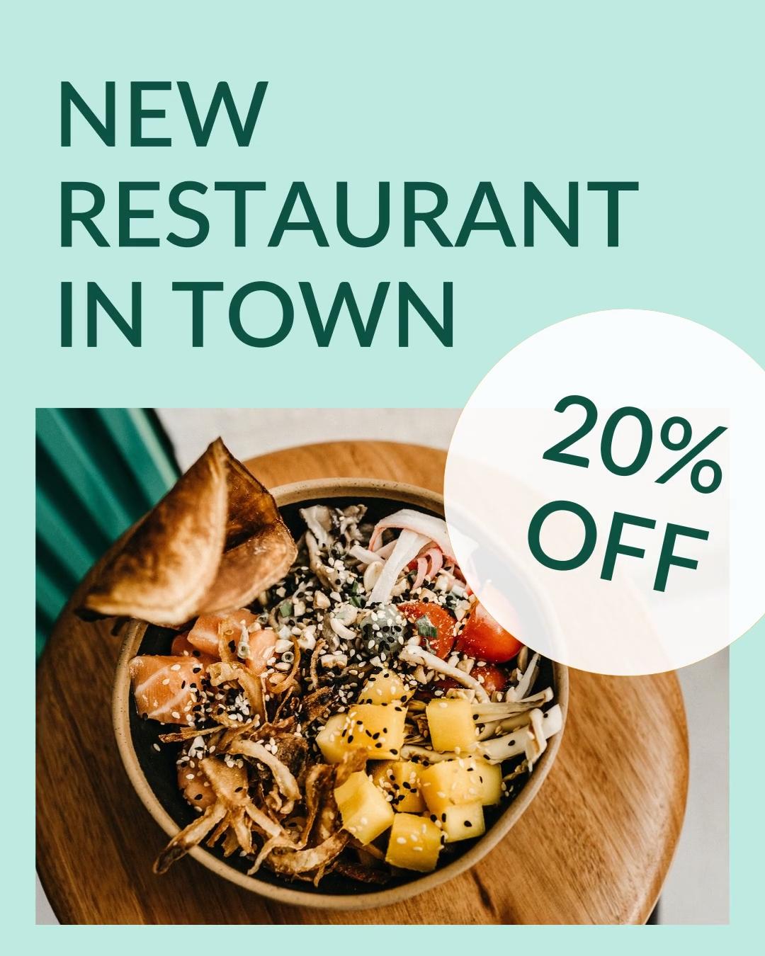 New Restaurant Opening
