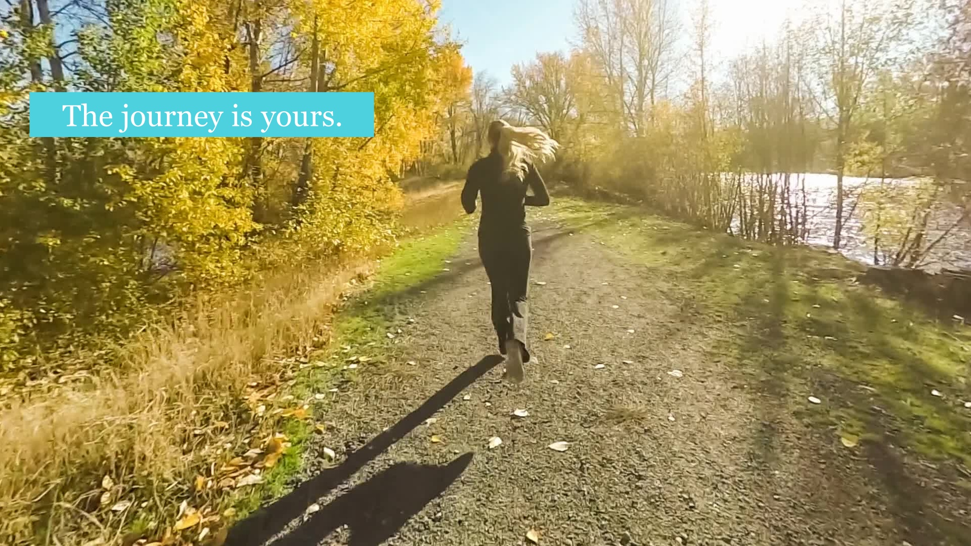 Running - the journey is yours