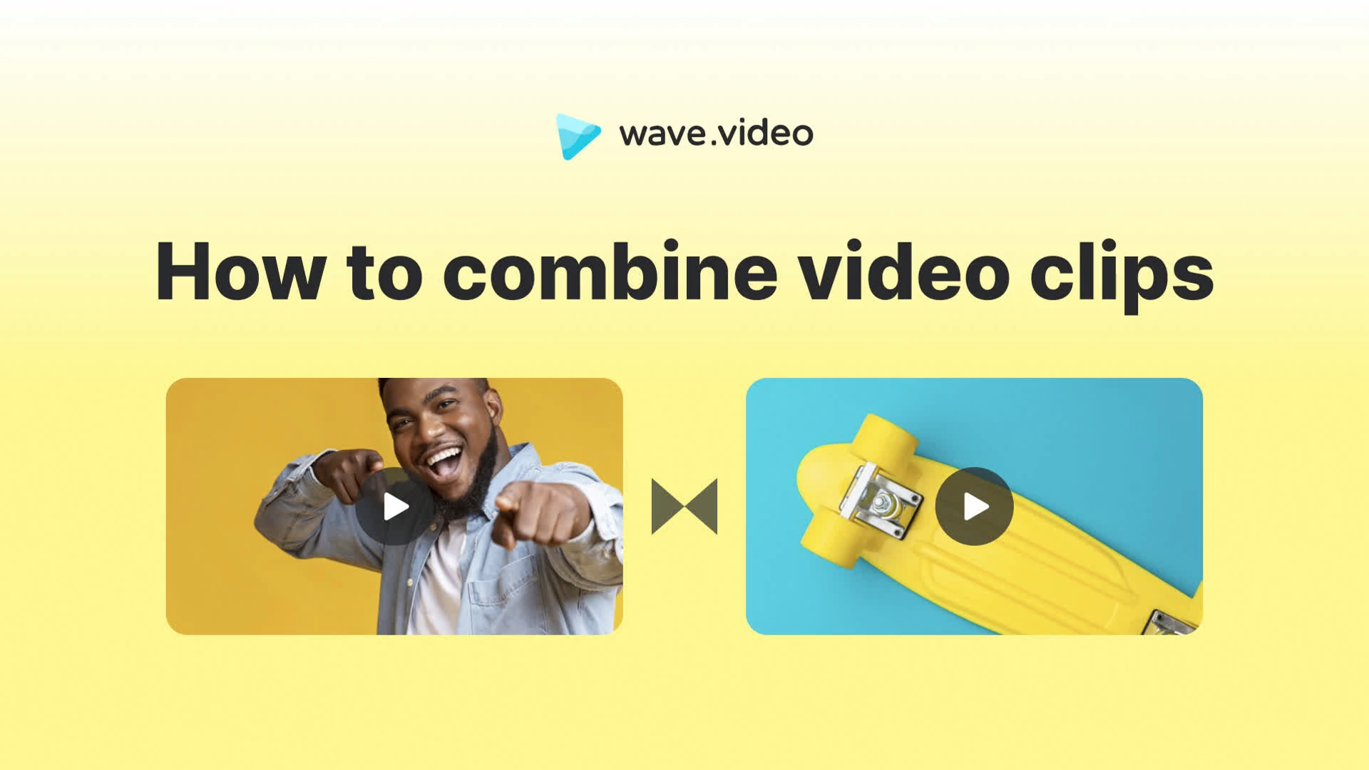Combine video clips