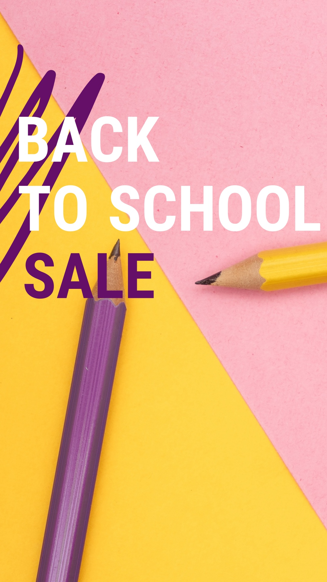 Back to School Sale Ad