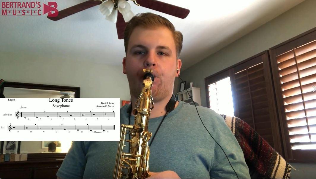 Alto Sax Long Tones