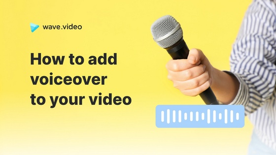 How to add voiceover to your video