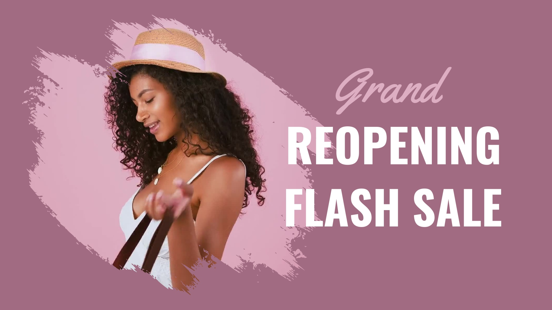 Grand Reopening Sale