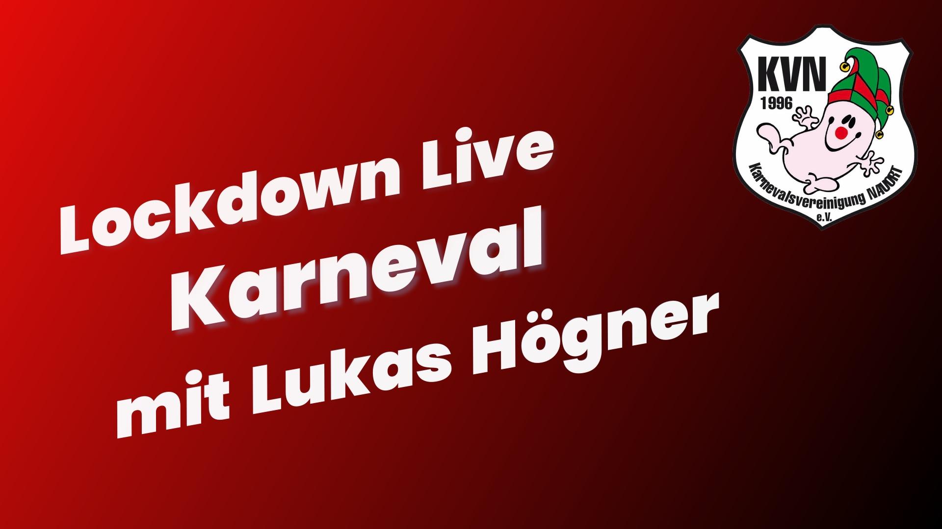 Lockdown Live Karneval - Tim Kuppler