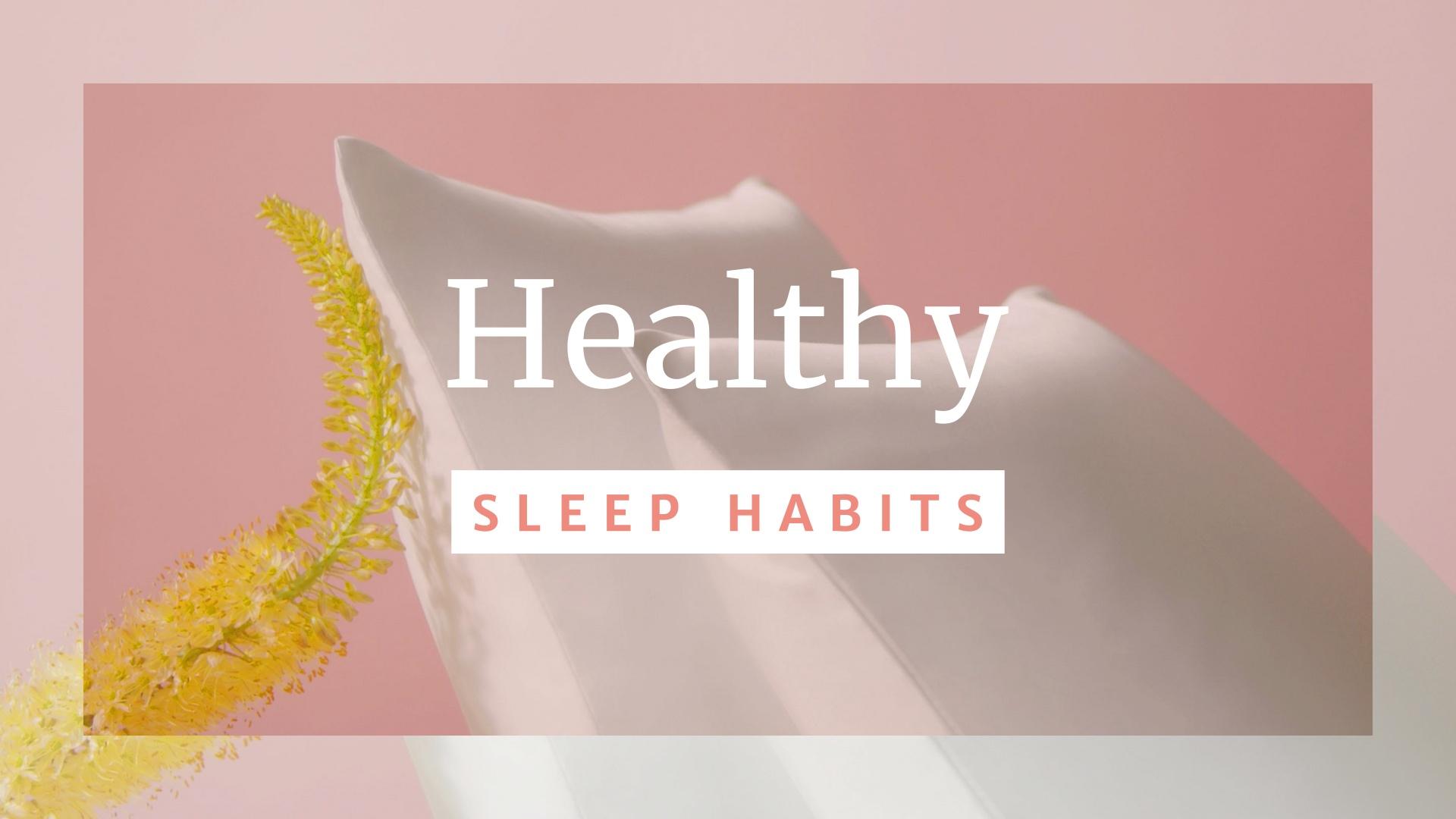 Scale: Healthy Sleep Habits